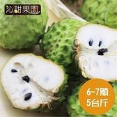 沁甜果園SSN.台東鳳梨釋迦(6-7顆裝,5台斤)﹍愛食網
