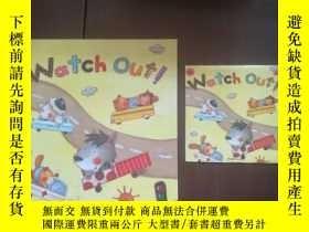 二手書博民逛書店英文版:Watch罕見Out!--Kinder Garden(精裝24開,帶光盤,無印章字跡勾劃)Y17560