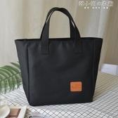 飯盒袋手提包日式女大號便當包防水飯盒包便當袋ins媽咪包手提袋 韓小姐