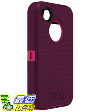 [美國直購 USAshop] Otterbox Defender Series for iPhone 4 & 4S 77-18585 Retail Packaging - Peony Pink/Deep Plum