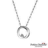 PERKINS 伯金仕  Circle系列 18K金鑽石項鍊