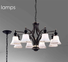 【燈王的店】北歐風 吊燈8燈 客廳燈 餐廳燈 吧檯燈 301-98154-1