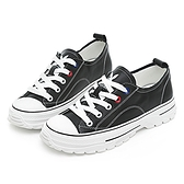 PLAYBOY 柔軟升級 新古典復刻休閒鞋-黑(Y6807)