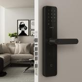 電子鎖 智慧門鎖標準鎖體活體指紋識別密碼鎖電子鎖家用室內防盜門小米手機 爾碩LX