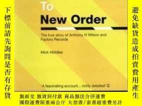 二手書博民逛書店From罕見Joy Division To New OrderY364682 Mick Middles Vir