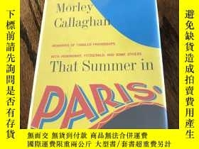 二手書博民逛書店That罕見Summer in ParisY110532 Mor