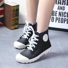 兒童雨鞋男童女童系帶款防滑...