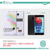 NILLKIN NOKIA 6 超清防指紋保護貼 含鏡頭貼 螢幕膜 高清貼