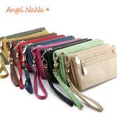 女長皮夾  AngelNaNa時尚 零錢包/長夾/帕妃PUFII 風 手拿包(SMA0066)
