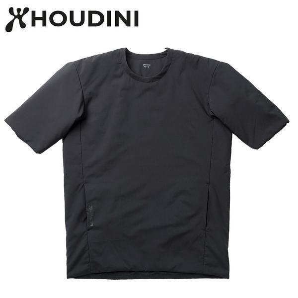 瑞典【Houdini】All weather Tee 中性保暖七分外套 純黑
