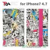 【預購商品】iJacket iPhone7/6s/6 4.7吋 Marvel 漫畫風系列 漫畫款 翻蓋皮套