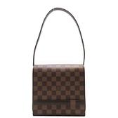 路易威登 LOUIS VUITTON LV 棕色棋盤格肩背包 Tribeca Mini N51162 【BRAND OFF】