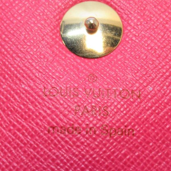 LOUIS VUITTON LV 路易威登 黑彩扣式二折長夾 發財包 Sarah M93747 二手名牌BRAND OFF