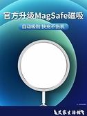 蘋果12磁吸無線充電器MagSafe磁吸式iphone12快充ProMax無限magesafe快速沖電PD頭I 艾家 LX