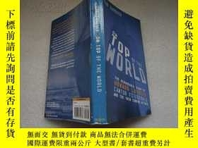二手書博民逛書店ON罕見TOP OF THE WORLD 上世界之巔Y18429