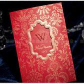 進口設計婚卡-典藏-創意中式喜帖韓式西式請帖 幸福朵朵(請先留言數量,勿直接購買)