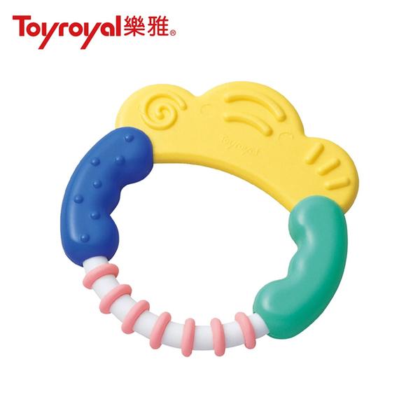 樂雅 Toyroyal 經典環形手搖鈴/環形固齒器(3個月以上)