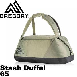 【GREGORY 美國 Stash Duffel 65 橄欖綠】75503/健行包/登山背包/自助旅行/休閒旅遊