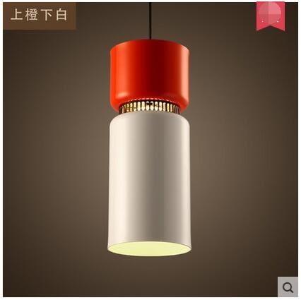 美術燈 吧台餐廳創意休閑彩色現代燈具個性藝術小吊燈-不含光源