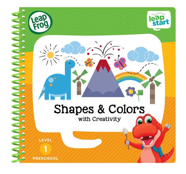 LEAP FROG 跳跳蛙 LeapStart Jr. Books幼兒1-形狀與顏色