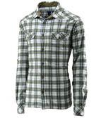 【速捷戶外】台灣Wildland 荒野 0A22206-68 男格子布保暖襯衫(橄欖綠)