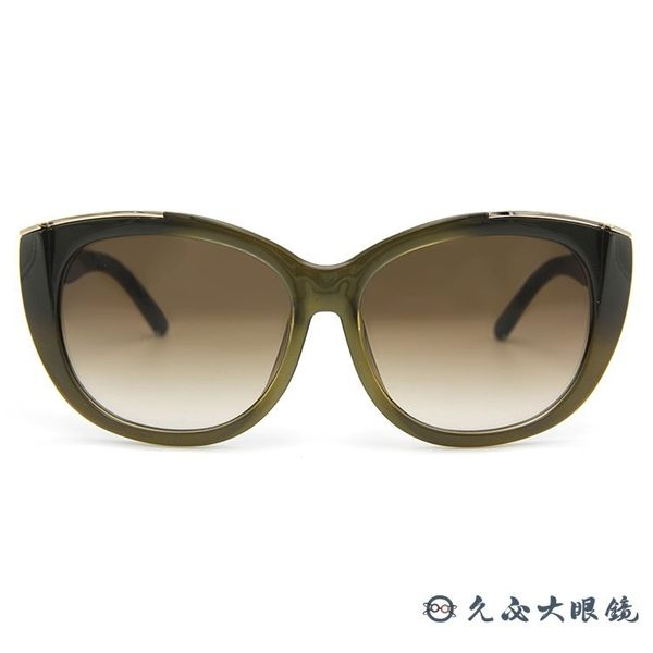 Chloe 墨鏡 CE667SA 303 (透綠) 貓眼 太陽眼鏡 久必大眼鏡