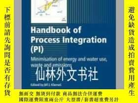 二手書博民逛書店【罕見】Handbook of process integrat