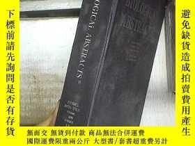 二手書博民逛書店BIOLOGICAL罕見ABSTRACTS 2002 VOLUME 09 NUMBER 09 生物學文摘2002年