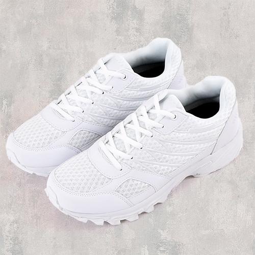 男款 多功能線條 學生全白鞋 慢跑鞋 運動鞋 小白鞋 MIT製造 59鞋廊