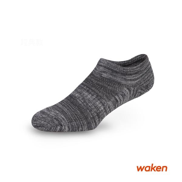 waken  精梳棉混紡船型運動襪 / 襪子 / 男襪 / 女襪 / 純棉襪 毛巾厚底氣墊襪