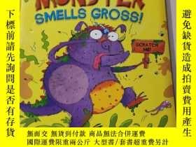 二手書博民逛書店My罕見Monster smells gross:我的怪物聞起來很惡心Y212829