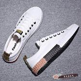 情侶帆布鞋街拍韓版個性百搭休閒男女板鞋潮