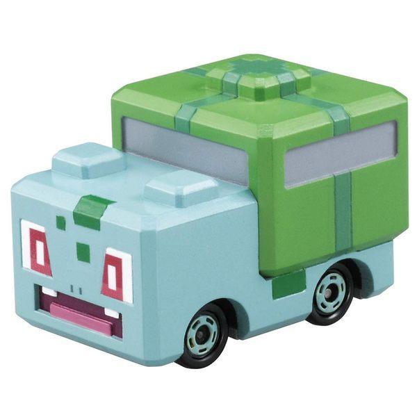 Pokemon GO 精靈寶可夢 TOMICA PQC-02 妙蛙種子探險車_ PC61519