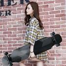 長板 刷街滑板男女生成人刷街專業初學者滑板車青少年代步刷街四輪滑板 小艾時尚.NMS