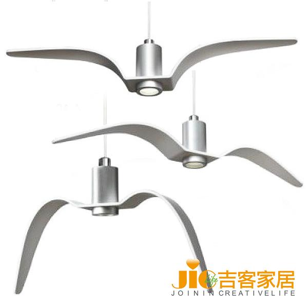 [吉客家居] 吊燈 JW004-04ABC金屬造型時尚簡約北歐工業餐廳民宿咖啡館OA商務