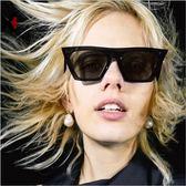 現貨-歐美街拍款太陽眼鏡網紅復古貓眼墨鏡女歐美個性太陽眼鏡墨鏡226