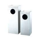不鏽鋼菸灰缸垃圾桶 銀色(大) / 個 AT4-75