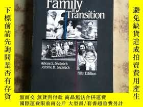 二手書博民逛書店Family罕見in Transition Fifth Edit