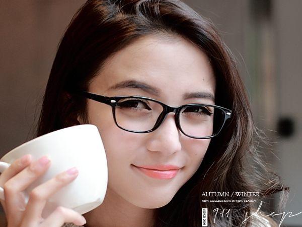 Chic.TR90塑膠鈦個性鉚釘橢方形配鏡框眼鏡【od880】*911 SHOP*
