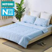 日本NITORI冷感薄被 空調被夏季被子單人雙人涼感簿夏涼被180*200cm jy618好康又一發
