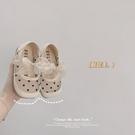 女童皮鞋韓版洋氣寶寶鞋網紗透氣蝴蝶結涼鞋兒童公主鞋 錢夫人小舖