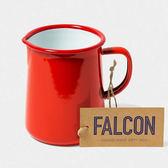 Falcon 獵鷹琺瑯 琺瑯1品脫冷水壺 586ml 紅白