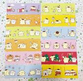 【震撼精品百貨】Pom Pom Purin 布丁狗~Sanrio 布丁狗長便條紙-紫色#11152