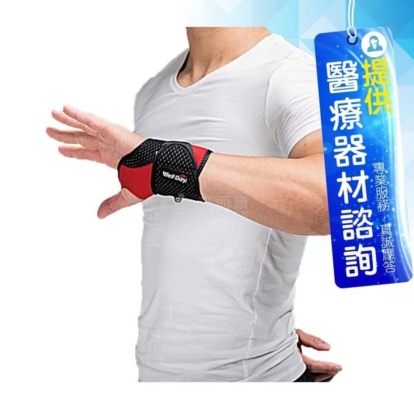 來而康 WELL-DAY 晶晏 動力式熱敷 石墨烯溫控熱敷(護腕) WD-GH322