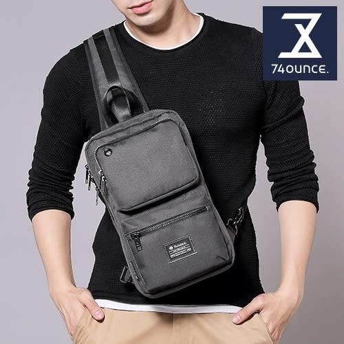 74盎司 Life 雙口袋設計尼龍胸包[G-1031-LI-M]