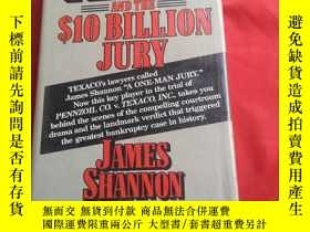 二手書博民逛書店TEXACO罕見AND THE 10 BILLION JURYY179070 TEXACO AND THE 1