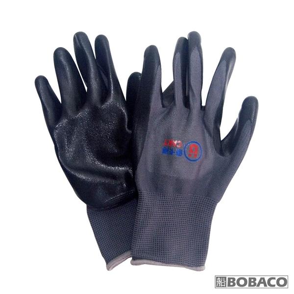 [優卡得]止滑耐磨發泡手套(黑) / 防滑 止滑 耐磨 安全 防護手套 工作手套