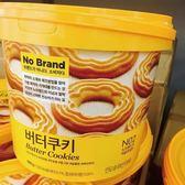 韓國 NO BRAND 奶油曲奇餅桶裝 (14包入) 400g☆現貨供應☆【宇庭飾品店】