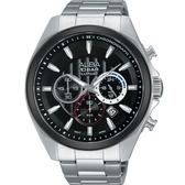 ALBA 潮流任我行運動腕錶/45mm/VD53-X219D/AT3833X1