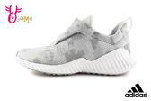 adidas FORTARUN AC K 慢跑鞋 中童 透氣 迷彩 運動鞋 Q9312#灰色◆OSOME奧森鞋業
